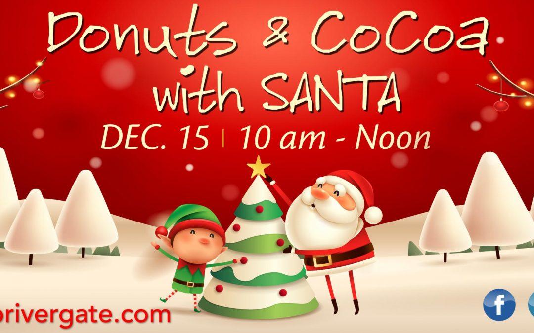 Donuts & Cocoa with Santa